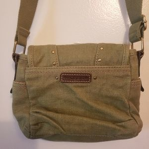 Green Fossil Purse/Handbag